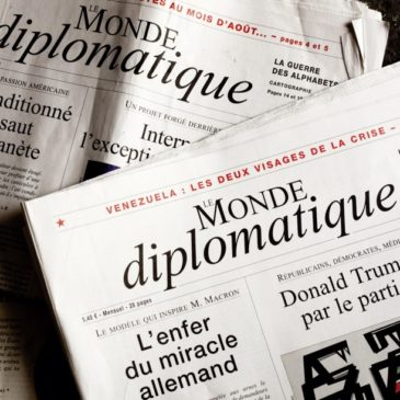 Recension dans le Monde Diplomatique