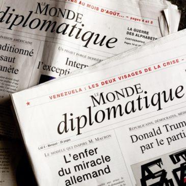 Recension dans le Monde Diplomatique