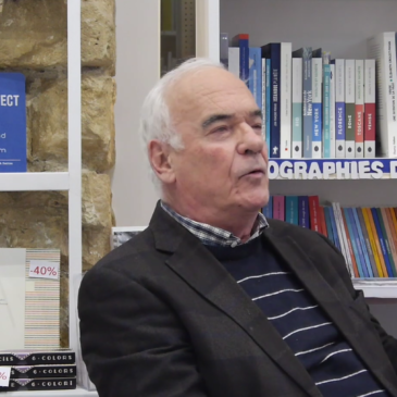 VIDÉO – Rencontre avec Jean-Pierre Garnier à la librairie Zenobi